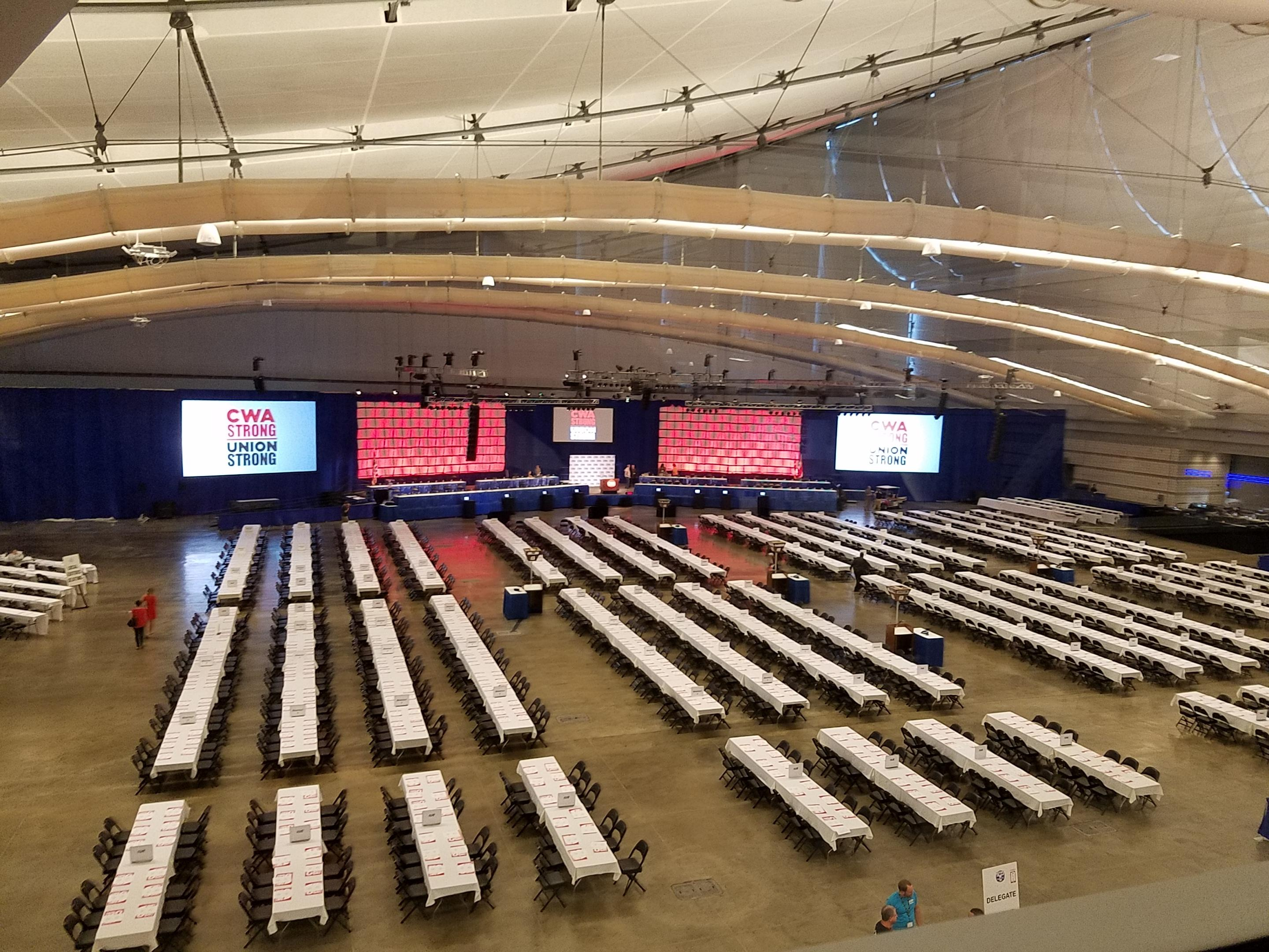 CWA Convention Floor