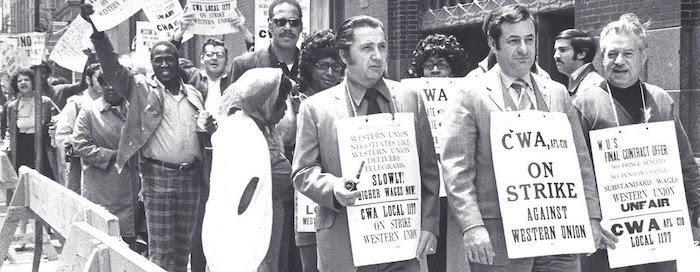 Morty Bahr CWA Strike Against Western Union