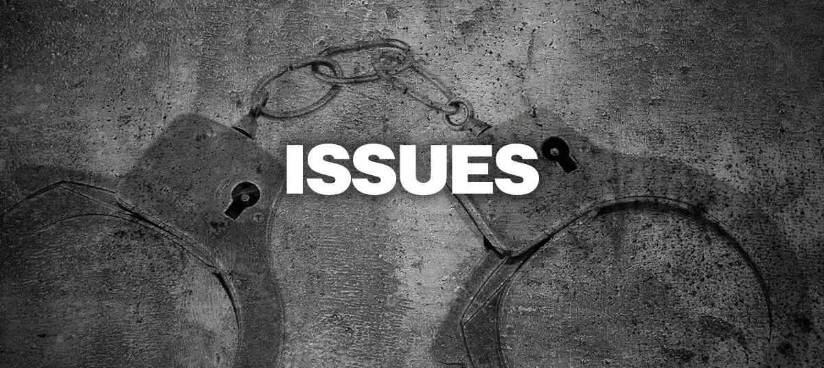 ISSUES WE FACE
