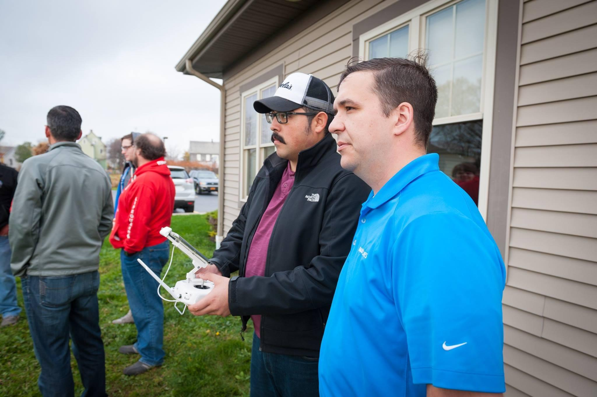 Local 25 Member Dave Morales Drone Training
