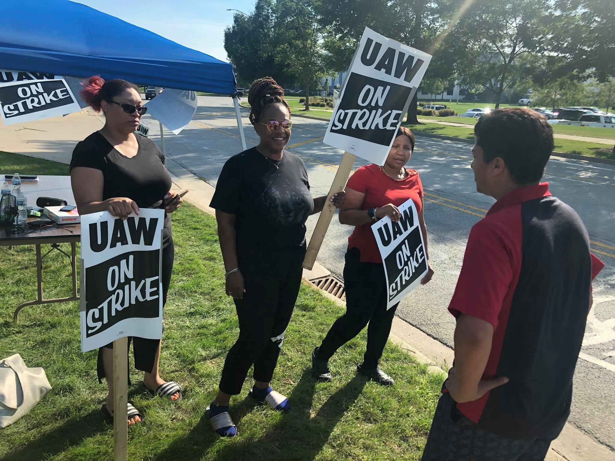 UAW On Strike